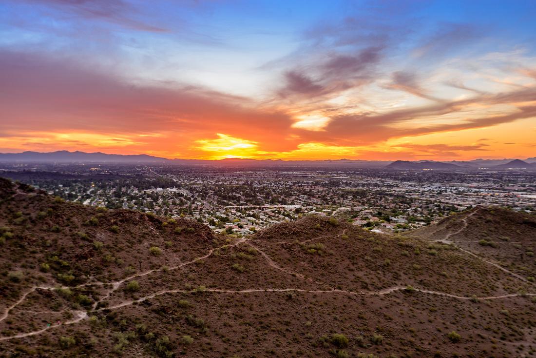 Sunset; Phoenix Arizona